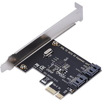 ANBE SATA 3.0 SATA 6Gb/s 拡張カード 2ポート Windows 7/8/8.1/10 Mac Linux 対応 PCI Express x1 X4 X8 X16 用