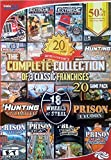 Complete Franchise Collection: Hunting Unlimited, 18 Wheels of Steel, Prison Tycoon - 20 Games
