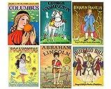 D'Aulaire Collection: Abraham Lincoln, Benjamin Franklin, George Washington, Pocahontas, Buffalo Bill, and Columbus