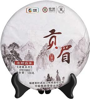 China-tea White Tea China's Time-honored Brand Fu Jian White Da Bai (Big White) Tea Cake (Gong Mei