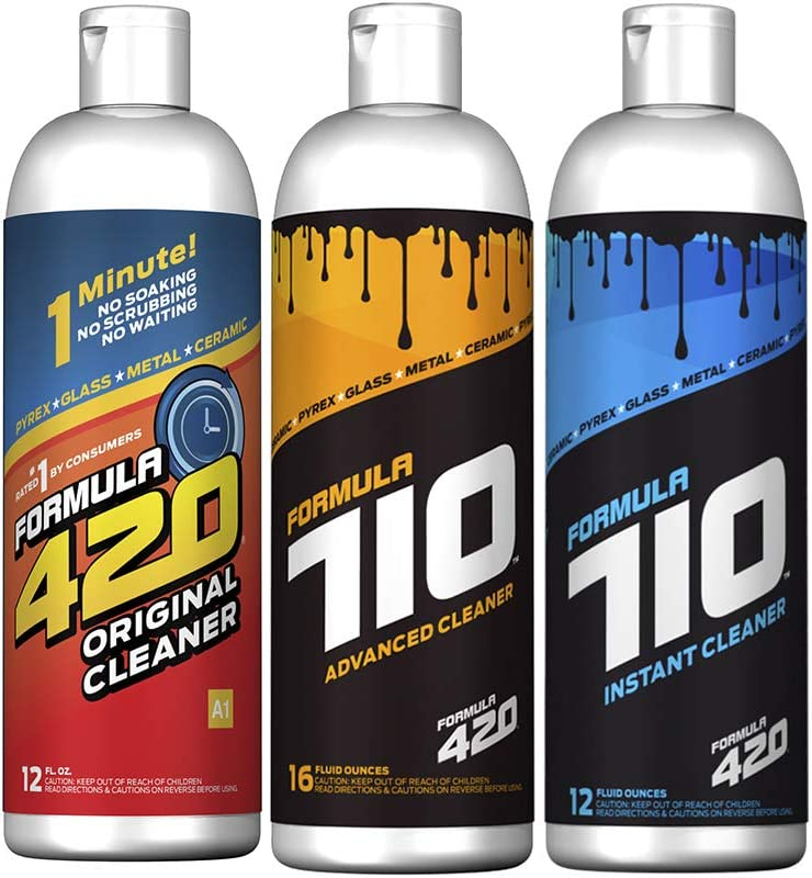 Cheap Formula 420 Bundle Pack : 1 Glass Bottle Metal Ceramic Large special price Orig Pipe