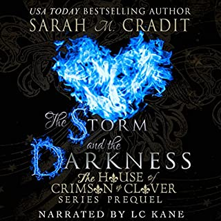 The Storm and the Darkness audiobook cover art