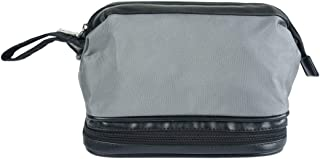 Ivesign Travel Toiletry Organizer Bag Waterproof Shaving Dopp Kit Toiletry Organizer Pouch Cosmetic Bags with Separate Par...