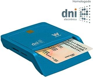 comprar comparacion Woxter Lector Dni Combo - Lector DNI electrónico, Compatible con Las Tarjetas Smart Cards o Tarjetas Inteligentes, con 3 R...