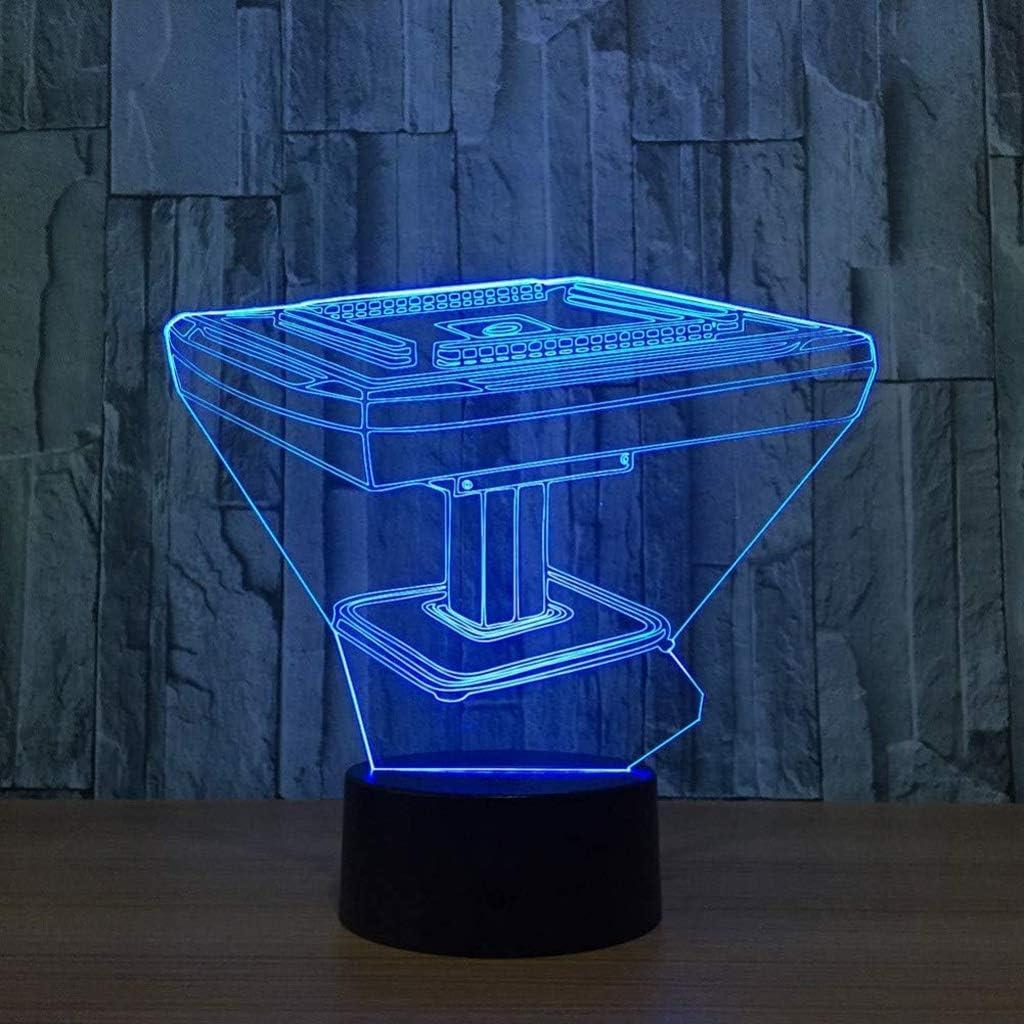 SPNEC 3D Visual Night Light,LED Sacramento Mall Desk Home D OFFicial site Household Toy Lamp