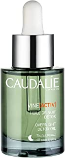 Caudalie Vine[activ] Overnight Detox Oil. Overnight Dry Face Oil Infused with Grape Seed, Lavender and Rosehip Oils to Moisturize Skin and Eliminate Toxins (1.01 Ounce / 30 Milliliters)