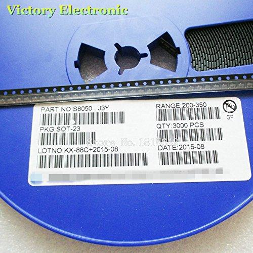 100PCS/Lot New Original J3Y S8050 SMD SOT-23 Triode NPN SMD Transistor