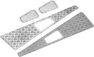 Crawler Grill, Auto-onderdeel RC-onderdeel Antislipplaat Inlaatrooster RC-inlaatgrill, Metalen antislipplaat Inlaatrooster...