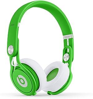 Beats Mixr有線小型ヘッドバンドヘッドフォン、ネオングリーン