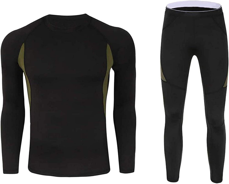 Men's Underwear Briefs Boxer Shorts,Men's Thermal Underwear Suit Breathable Underwear Fitness Skiing Running Hiking