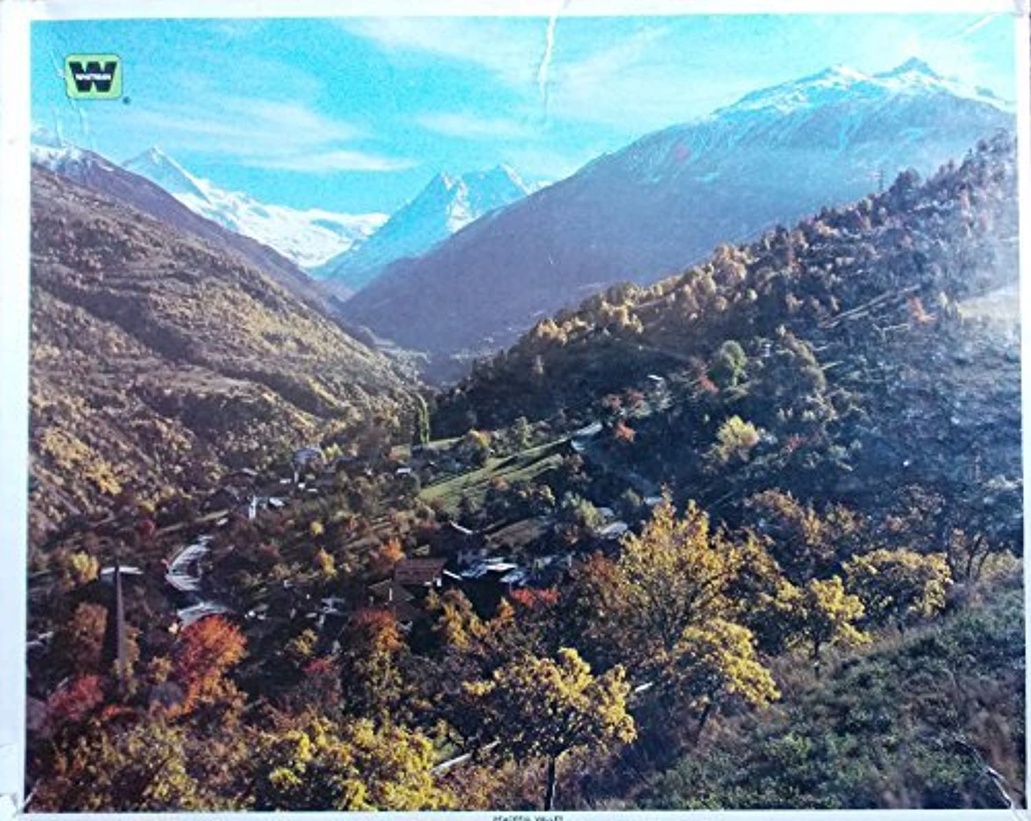 conveniente Whitman Peaceful Valley Valley Valley 1000 Jigsaw Puzzle Pieces by Whitman Coins  tienda de descuento