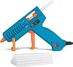 【50W】Hot Glue Gun, Tilswall Mini Hot Melt Glue Gun with 12pcs Glue Sticks, High Temperature Anti-drip Melting Glue Gun Kit...