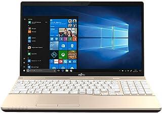 富士通 15.6型ノートパソコン FMV LIFEBOOK AH45/C2 シャンパンゴールド[Core i3/メモリ 4GB/HDD 1TB/Office H&B 2016]※2018年夏モデル FMVA45C2G