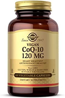 Solgar – Vegetarian CoQ-10 120mg, 60 Vegetable Capsules