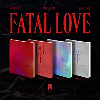 Starship Entertainment Monsta X - Fatal Love (Vol.3) Album+Pre-Order Benefit+Folded Poster (2 ver.)