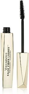 L'Oreal Paris Voluminous False Fiber Lashes Waterproof Mascara, 285 Blackest Black, 0.35 Fl Oz