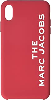 Marc Jacobs Silicone iPhone Xs Max Case Red One Size