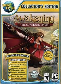 AWAKENING THE SUNHOOK SPIRE Collectors Edition Hidden Object PC game DVD-ROM + Bonus!