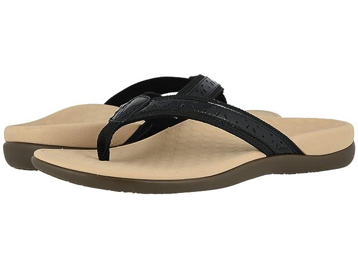 VIONIC  Casandra (Black Leather) Womens Shoes