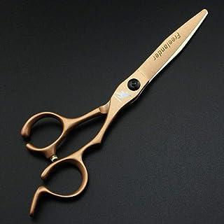 Rozhuhro Conjunto de Tijeras de peluquería de 2 Piezas, Tijeras de Pelo de 6 Pulgadas Conjunto de Tijeras de barbero Profe...