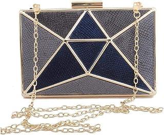Umhängetasche Damen Clutch Velour Patchwork Weibliche Clutch Bag Mode Geometrische Muster Party Geldbörse Umhängetasche Fü...