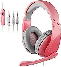 [Sades R5 Gaming Headset] 3,5 mm verdrahtet über Ohr Bass Stereo Gaming Kopfhörer mit..