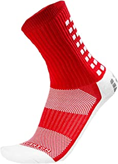 Mid-Calf Crew Anti Slip Sport Socks - Many Colors - Soccer Football Beesox