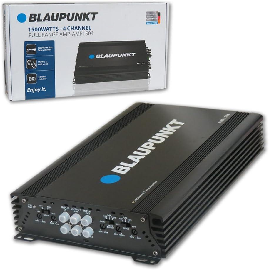 Blaupunkt 1500W Full-Range Car Amplifiers