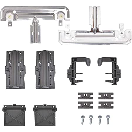 Kitchen Aid Jenn Air Amana Kenmore Sears Upgraded Dishwasher Top Rack Adjuster Replacement Replace W10712395 3516330 Ap5957560 W10350375 Dishwasher Top Rack Adjuster Fits Whirlpool Maytagg