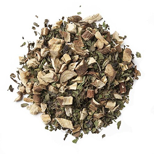 Aromas de Té - Infusión A Granel/Infusión Natural Digestiva de Menta y Regaliz, Infusión con Efecto Digestivo y Ideal para Sistema Inmunológico, 100 gr