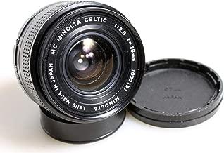 28mm F2.8 MC Minolta Celtic Camera Lens//Camera Accessories