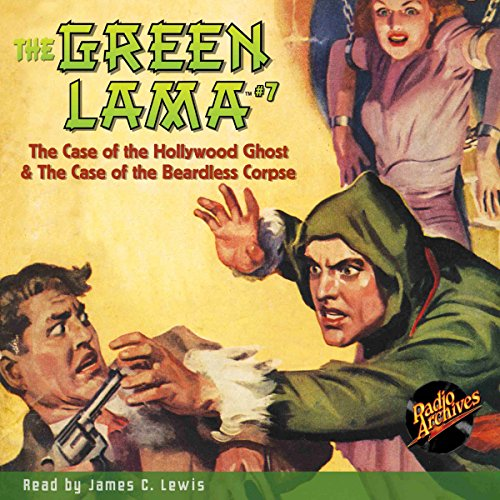 The Green Lama #7 audiobook cover art