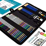 WATERCOLOR PENCILS HIGHLY PIGMENTED PROFESSIONAL GRADE - NIL-TECH set contains 12 watercolor pencils, which is an excellent tool for creating stunning effects and mixes of color. It also comes with a refillable water brush pen and a nylon brush which...