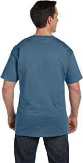 Hanes Men's 2 Pack Short-Sleeve Pocket Beefy-T