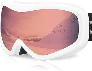 devembr Gafas de Esquí y Snowboard, Gafas Ski Mujer/Hombre