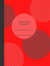 """Red Graph Paper Notebook: Graph Paper 4x4; Quad Ruled 0.25""""x0.25"""" (1/4 inch) Squares Notebook; 120 Pages"""