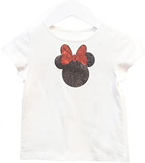 Sequin Minnie Tee w/Dotted Tutu Skirt