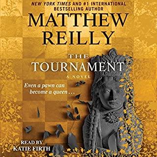 The Tournament audiobook cover art