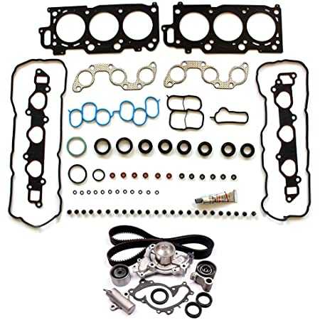 ANGLEWIDE 13540-20030 Timing Belt Water Pump Kits Replacement for 2004-2006 Lexus ES330 2004-2005 Lexus RX330 2006 Lexus RX400h 2002-2006 Toyota Camry 2004-2008 Toyota Solara