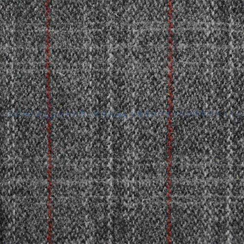 Loome Harris Tweed Stoff Dunmore per metre grau