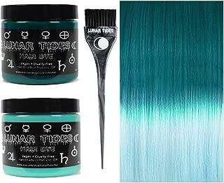 Lunar Tides Hair Dye - Teal Turquoise DIY Ombre Hair Dye Kit