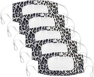 Wtouhe 5pc Bolsa para actividades al aire libre reutilizable y lavable con esponja suave a prueba de polvo Con Ventana Cla...