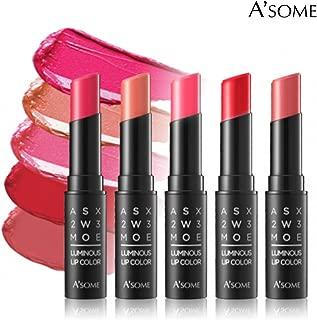 A'some Luminous Lip Color, Long Lasting Moisturizing Lipstick - Red Balm
