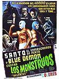 Santo y Blue Demon Contra Los Monstruos
