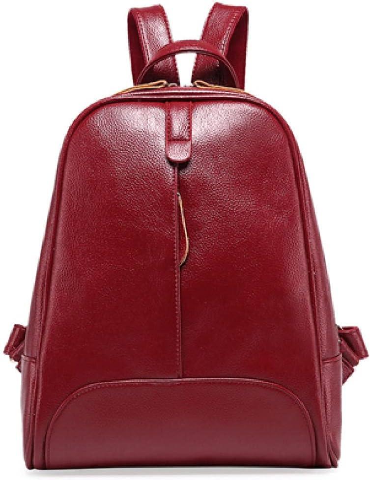 ZYSAJK Women Leather Bag Backpacks Backpack for Teenage Girls School Travel Bags Female Fashion Women Backpack
