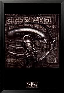 buyartforless FRAMED Gigers Alien by HR Giger 36x24 Fantasy Science Fiction Art Print Poster