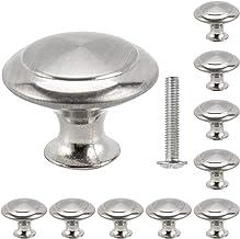 Libraoeu 30 stuks deurknop deurknop roestvrij stalen knop voor kast, schuiflade deurknoppen deurknoppen meubelknop