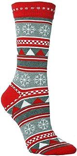 DEELIN Sale Christmas Socks Xmas Gift Womens Socks Unisex Socks Womens Winter Casual Cute Cartoon Thickness Stockings Slee...