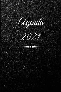 AGENDA ANNUEL 2021: Agenda 2021 | Agenda semainier | Calendrier | Répertoire (Français) Broché