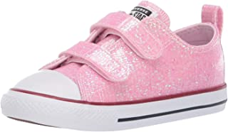 Converse Kids Infants' Chuck Taylor All Star 2v Glitter Low Top Sneaker